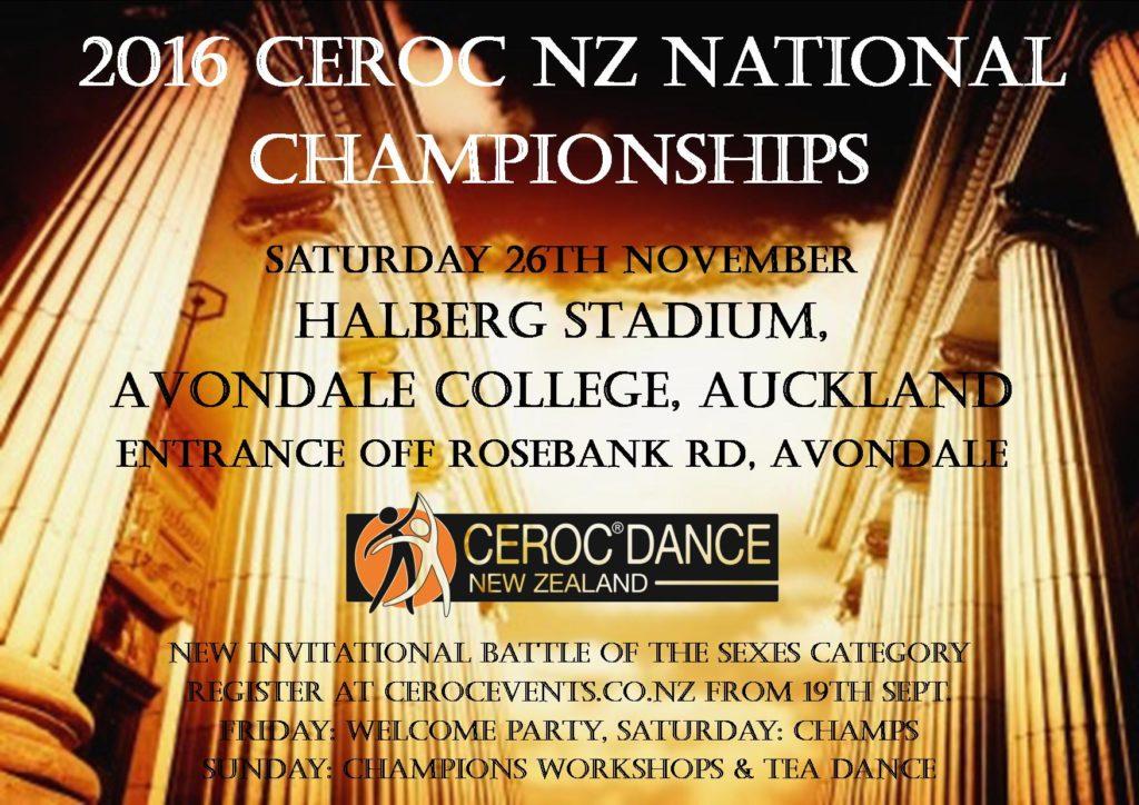 2016 CNZ Nationals