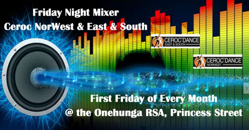 Friday Night Mixer Classes & Extended Social Dancing @ Onehunga RSA