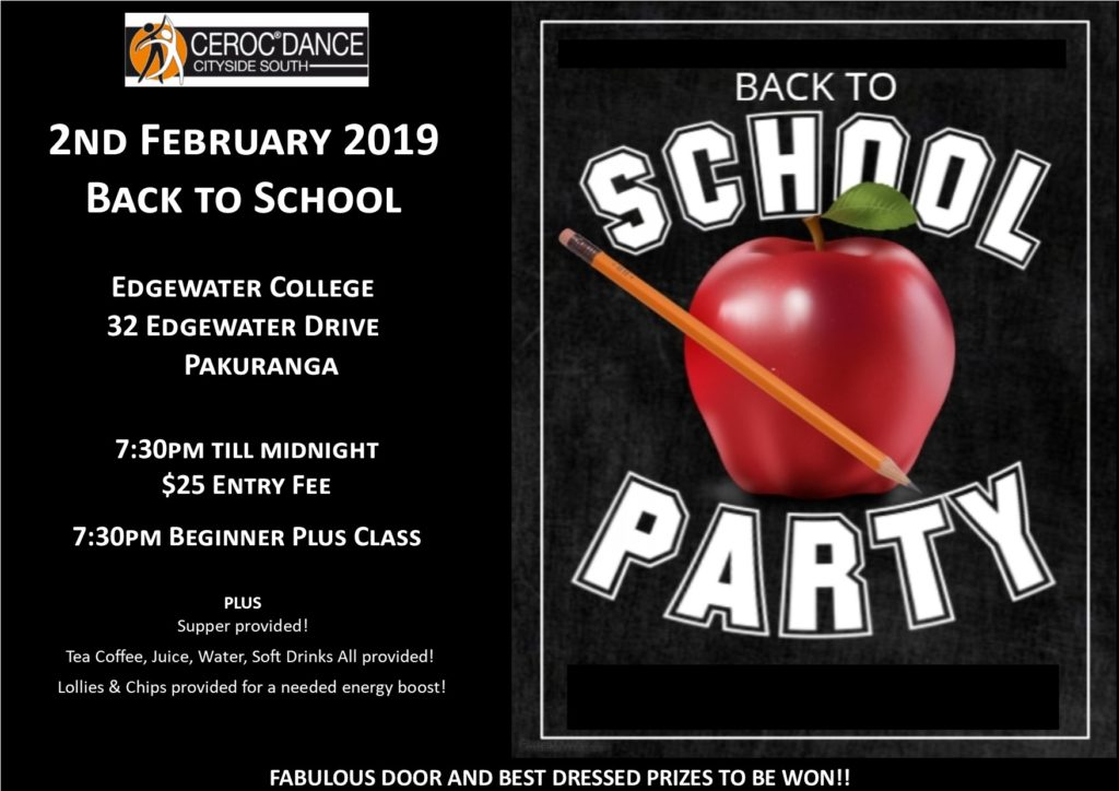 Ceroc Cityside South Dance Party @ Edgwater College | Auckland | Auckland | New Zealand