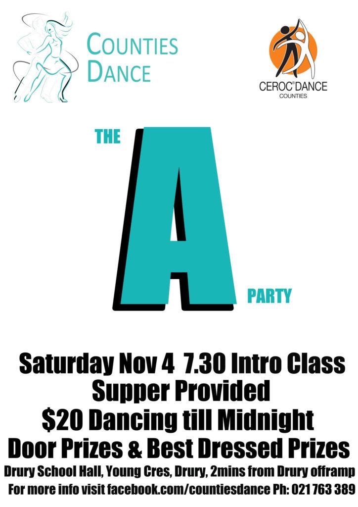 Counties Dance Party @ Drury School Hall | Drury | Auckland | New Zealand