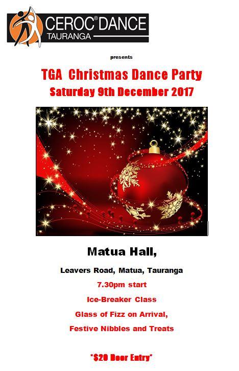 Tauranga Dance Party @ Matua Hall   Tauranga   Bay Of Plenty   New Zealand